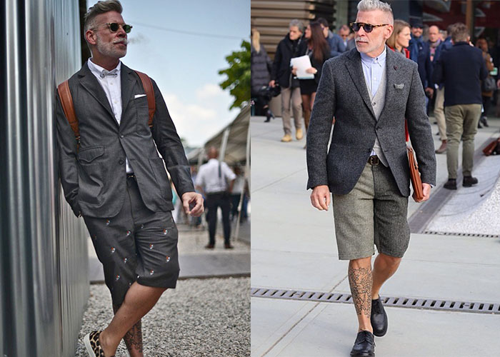 Nick Wooster suit style