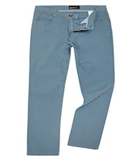 Straight Leg Cotton Jean