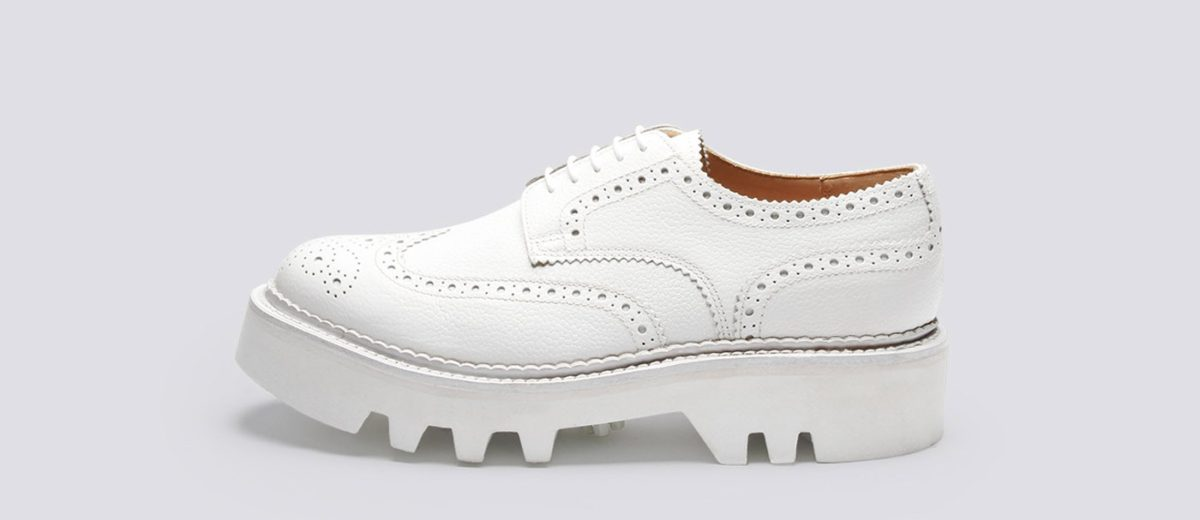 Grenson X Nick Wooster - Nick Wooster NW1 White