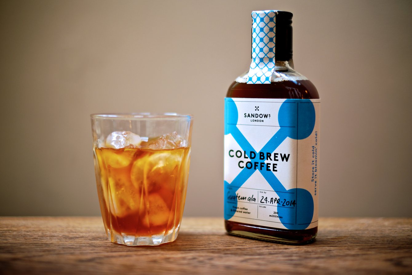 Sandows London Cold Brew Coffee