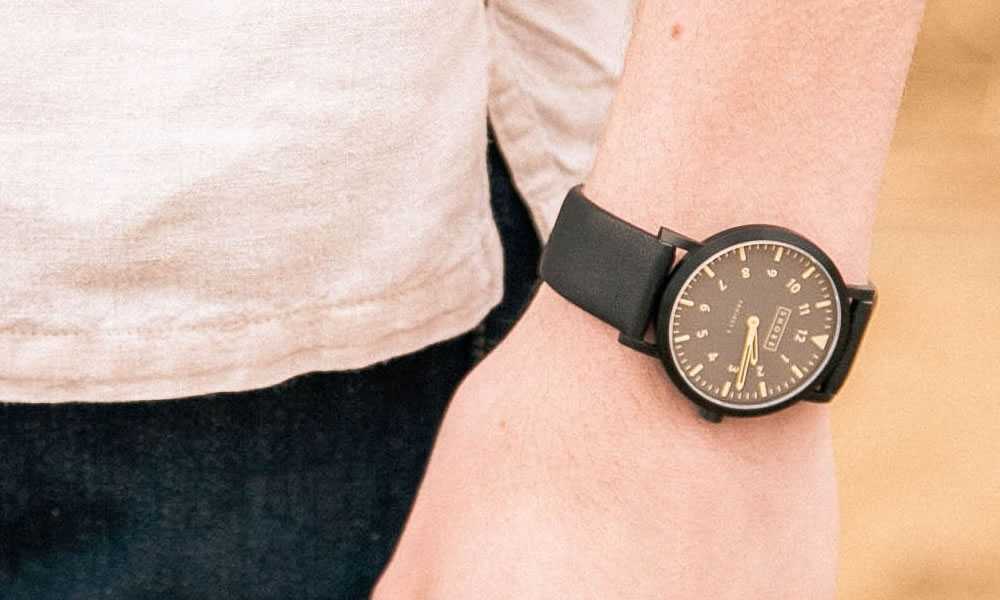 minimalist mens watches: shore projects