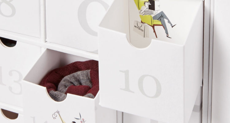 MR PORTER X CORGI SOCK ADVENT CALENDER