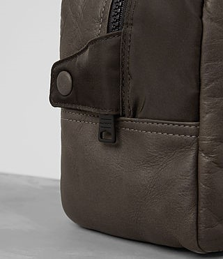 Valentines Edit AllSaints Shoto Leather Wash Bag