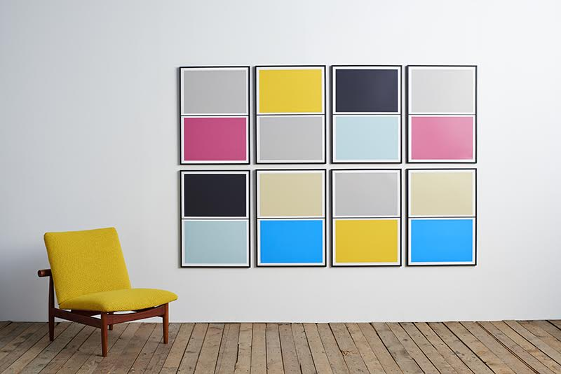 Lane's New Twin Tone Wall Art System