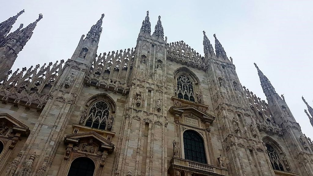 A weekend in Milan cathedral