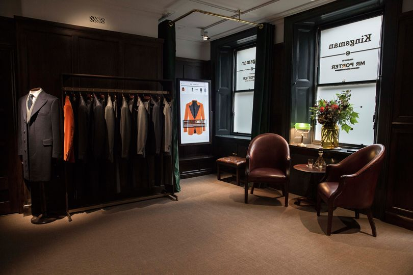Kingsman X MR PORTER British