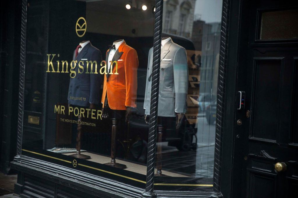 Kingsman X MR PORTER Kingsman Shop