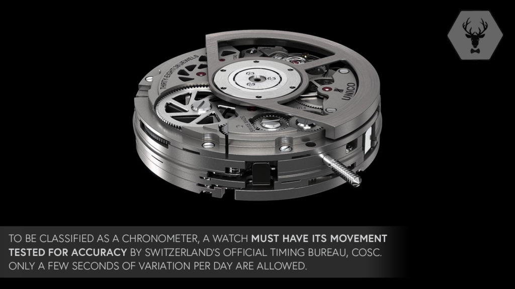 ROX X Off The Cuff LDN Lucury Watch Facts Chronometer