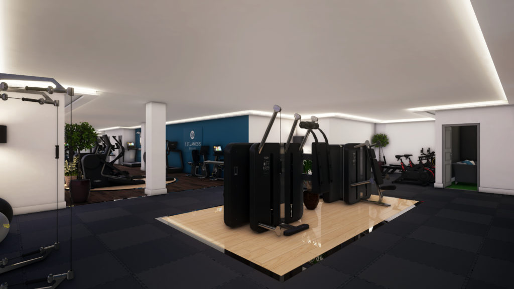 3 St James's Square Gym