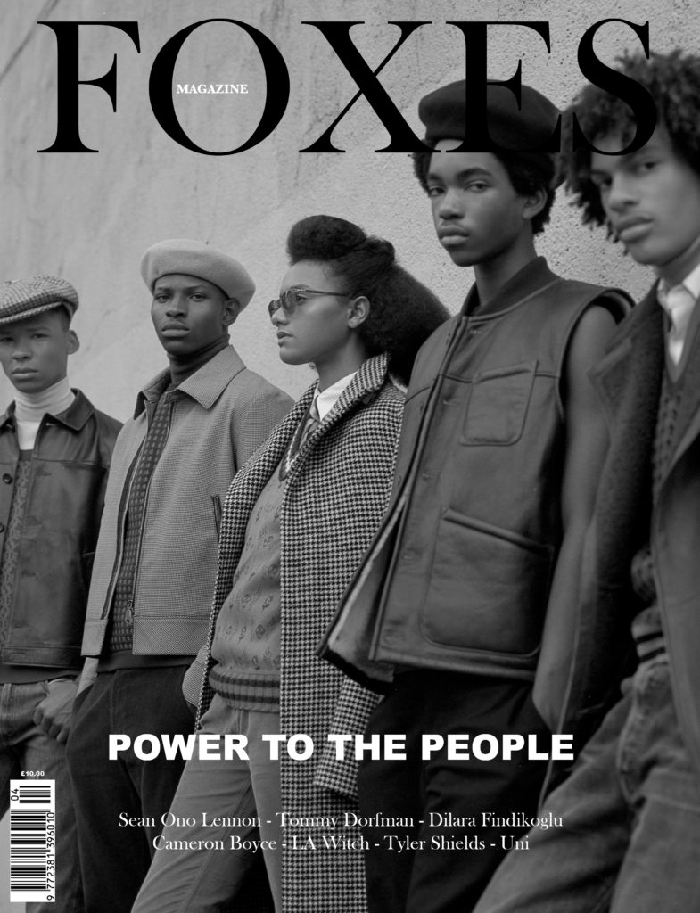 FOXES MAGAZINE POWER TO THE PEOPLE COVER