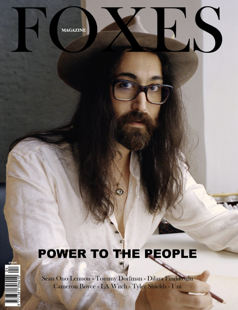 FOXES MAGAZINE SEAN LENNON COVER