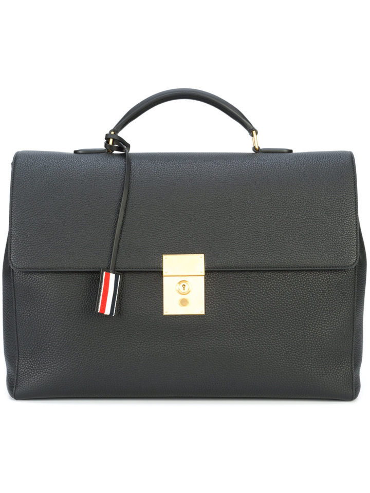 FARFETCH: Gift guide for men Mr. Thom briefcase, Thom Browne