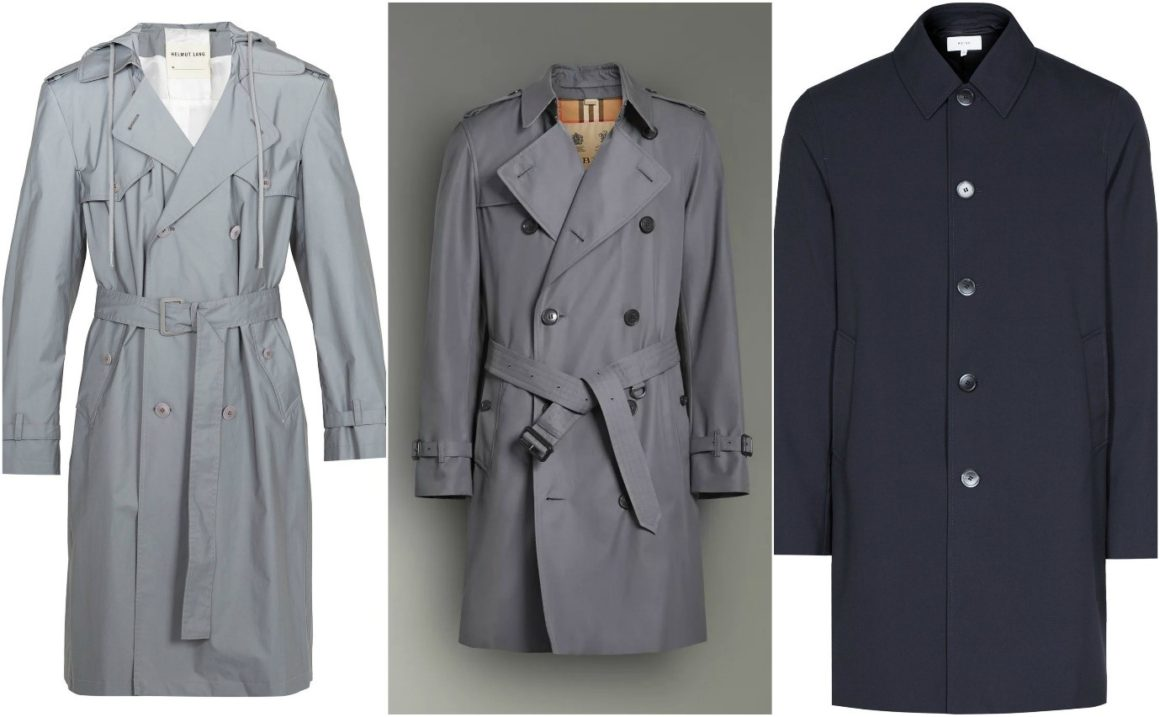 seasonal essentials lightweight trench