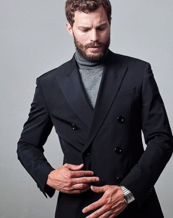 Jamie Dornan Style Profile Double Breasted