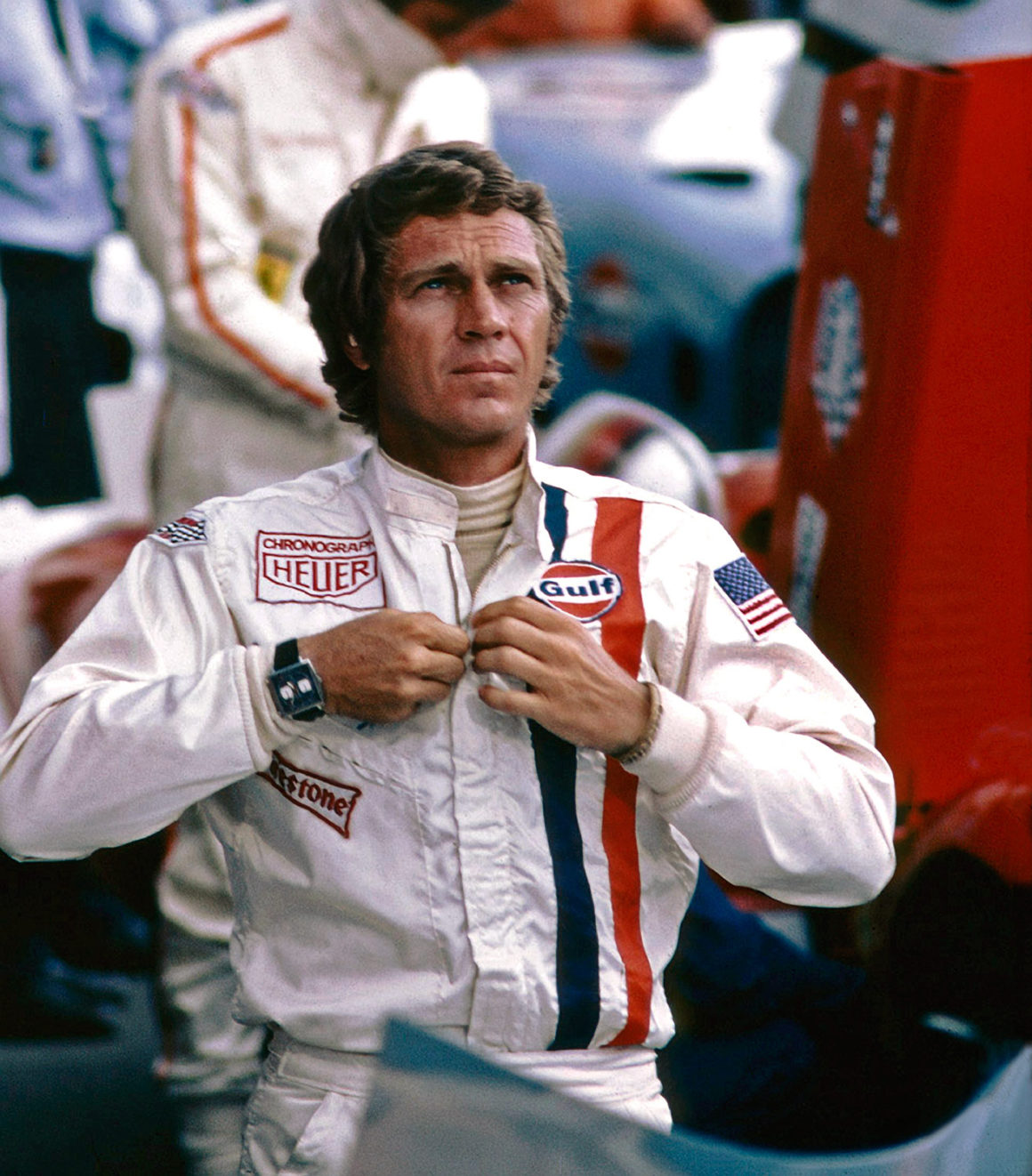 life of Steve McQueen Tag Heuer