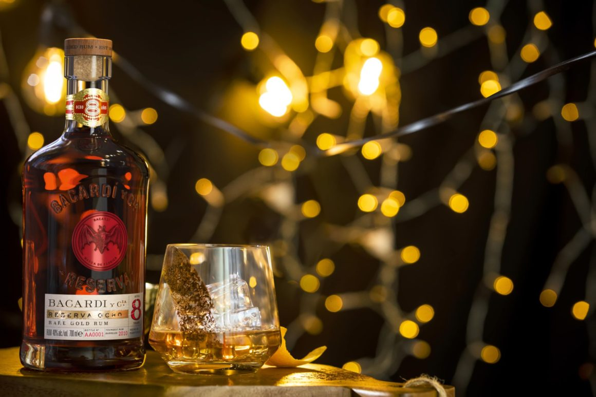 3 of the best Christmas cocktails to sip this holiday season - Bacardi bottle
