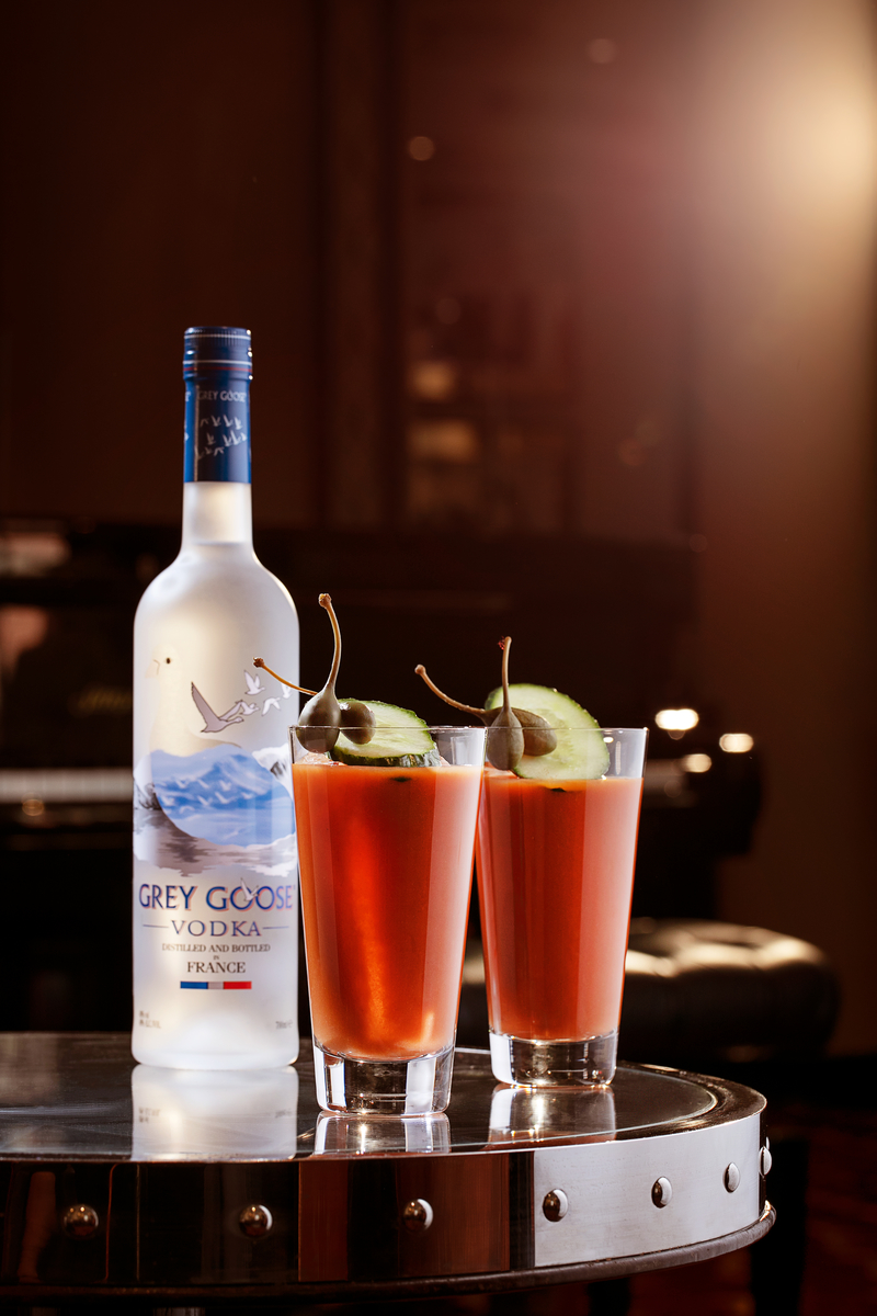 London's ultimate Bloody Mary showcases the Proud Mary at American Bar with Grey Goose
