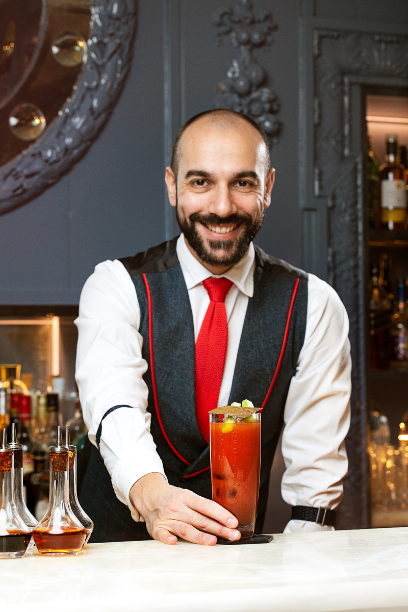 London's ultimate Bloody Mary showcases the Proud Mary at Blue Bar with Grey Goose