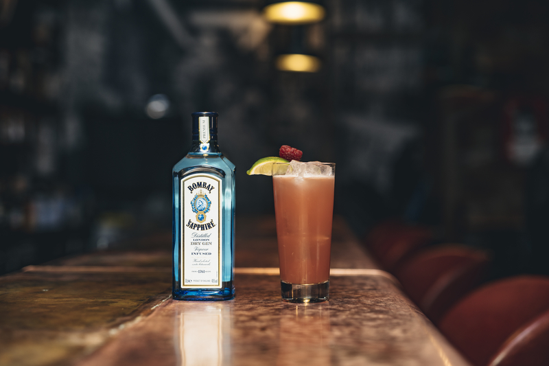 Raise a glass to the end of Dry January with Old Street Records and London Cocktail Club Bombay Berry
