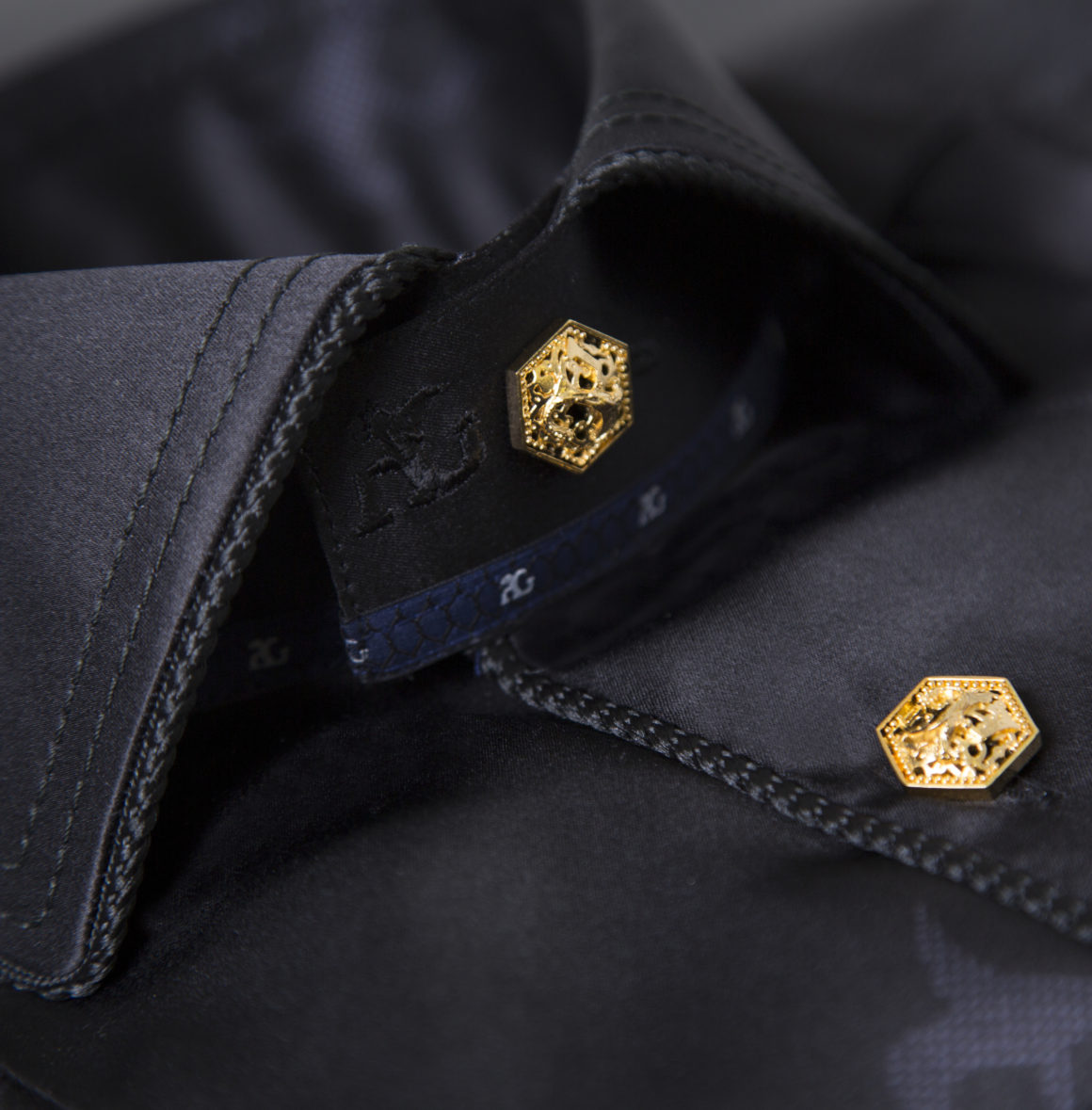 Angelo Galasso GOLD collection shirt