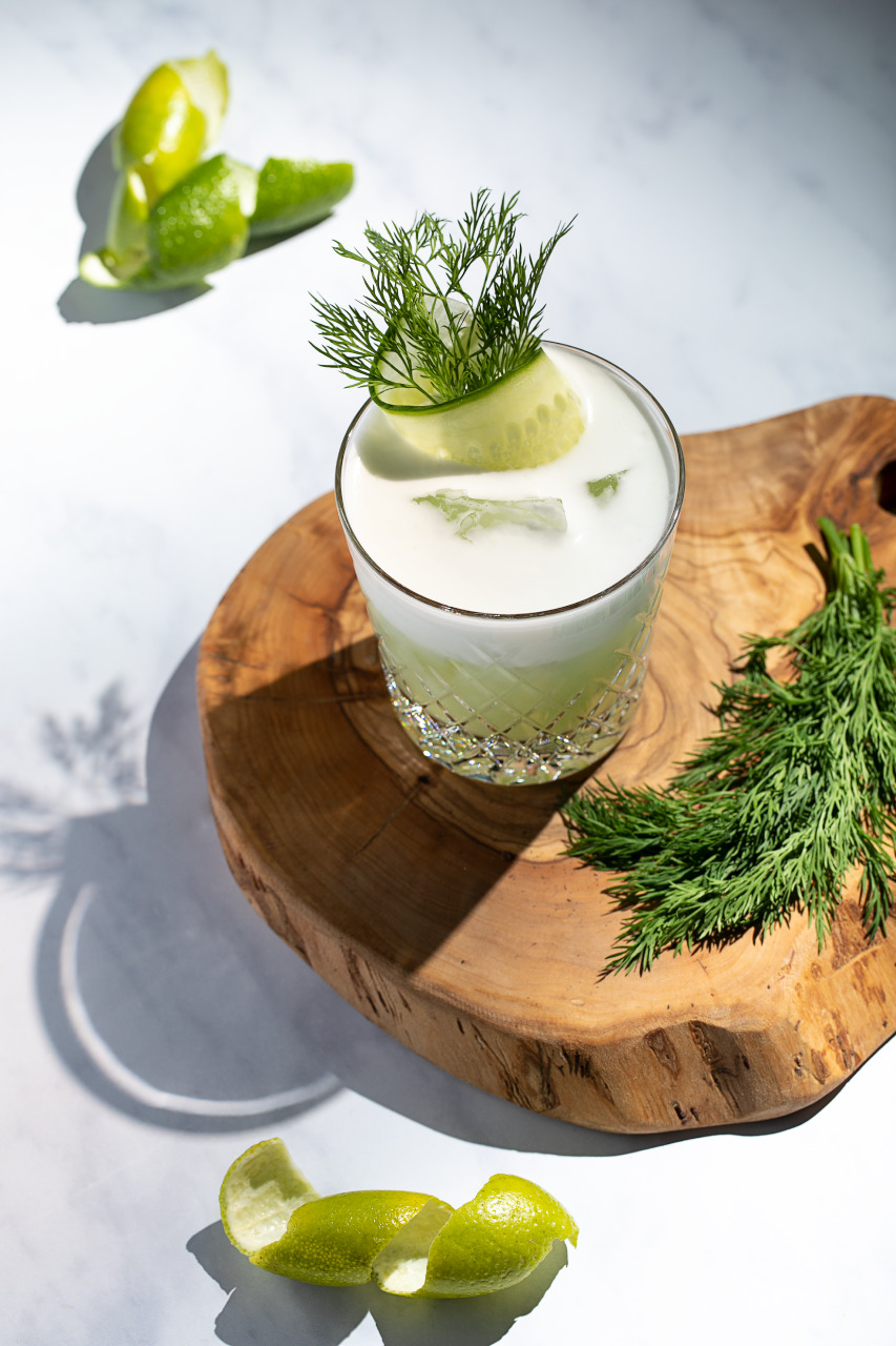 Celebrate World Cocktail Day 2019 by Going Out OR Staying In - Cucumber and Dill sour