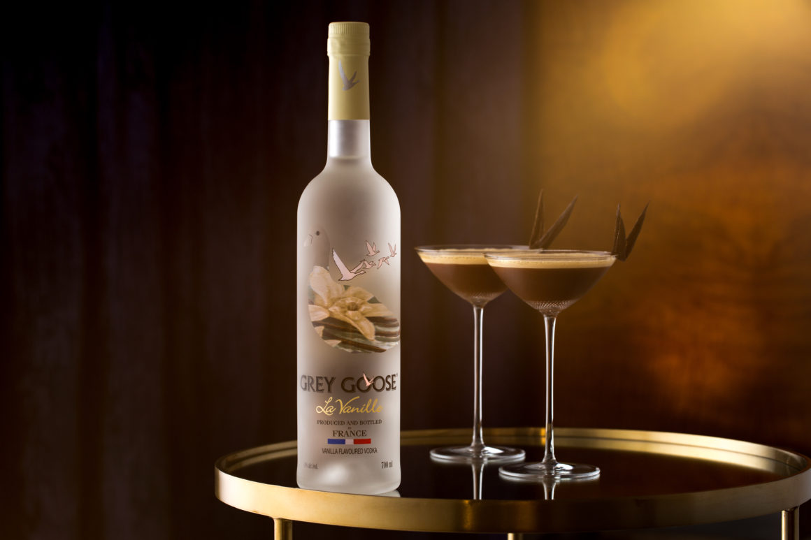 Celebrate World Cocktail Day 2019 by Going Out OR Staying In - Espresso Martini - Grey Goose La Vanille Bottle