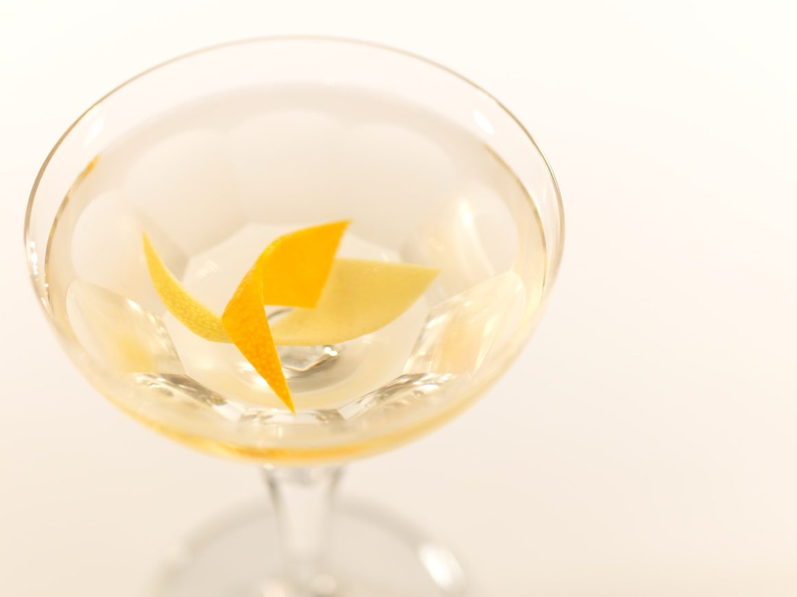 National Martini Day Twice Twisted Martini with Bombay Sapphire