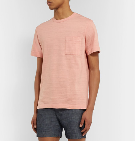 Mr P Summer Collection Slub Cotton-Jersey T-Shirt