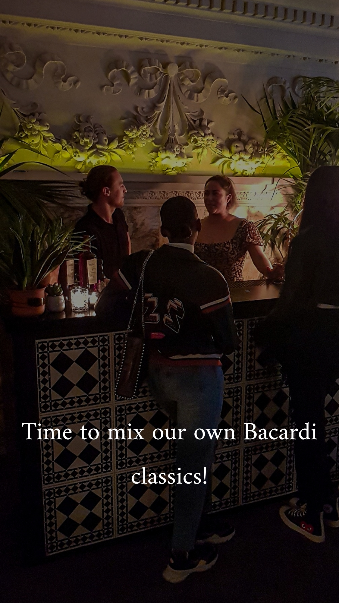 Celebrating the climax of Bacardi rum month with National Rum Day at The London Edition bar