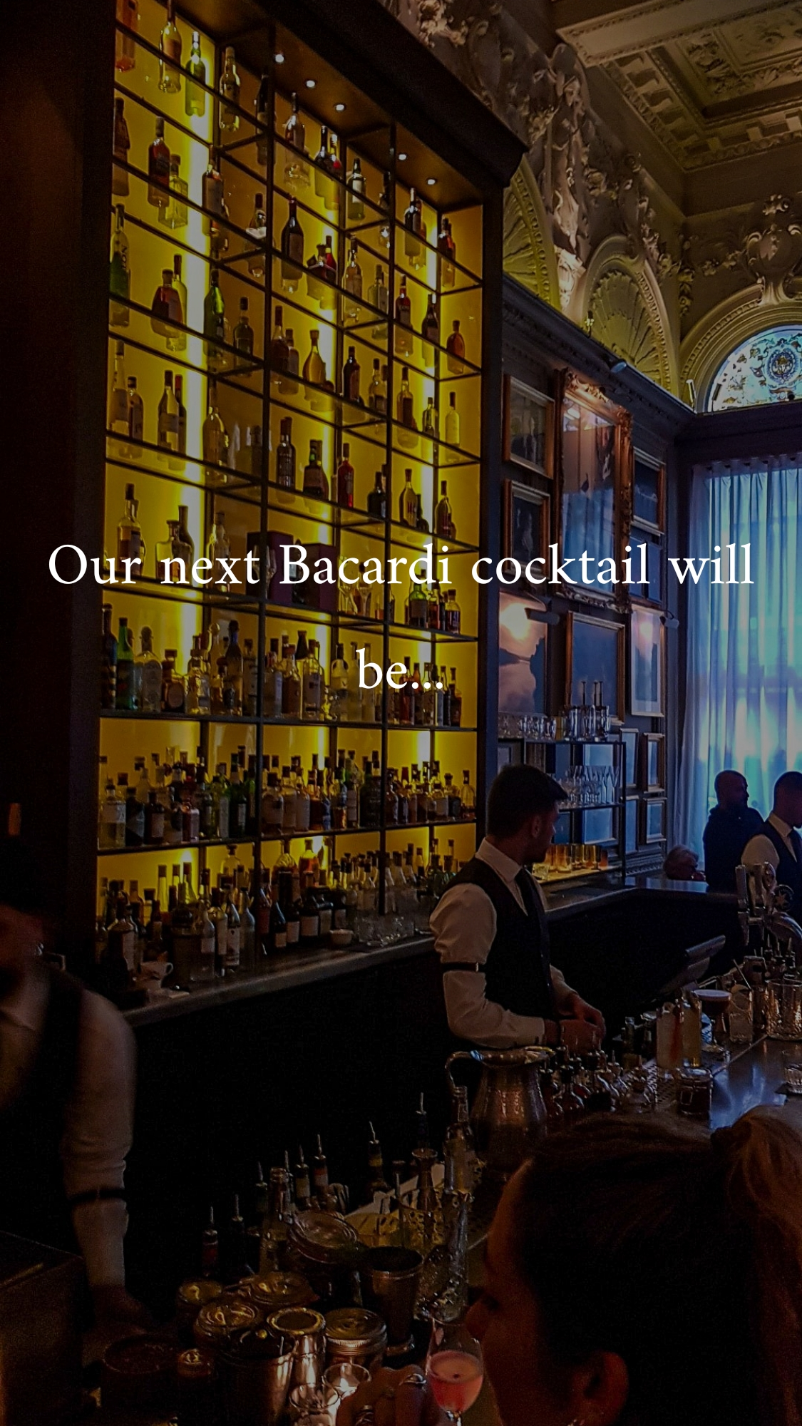 Celebrating the climax of Bacardi rum month with National Rum Day at The London Edition drinks