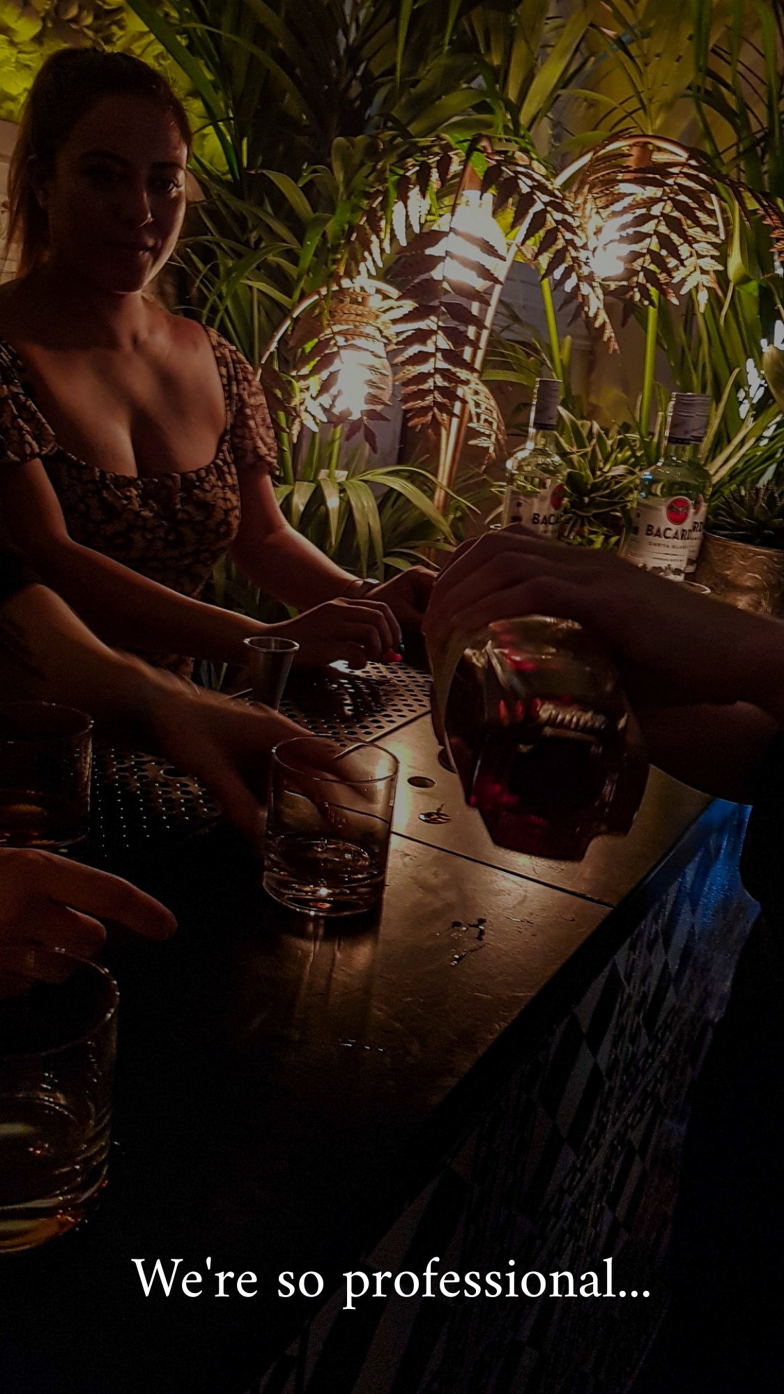 Celebrating the climax of Bacardi rum month with National Rum Day at The London Edition mixology