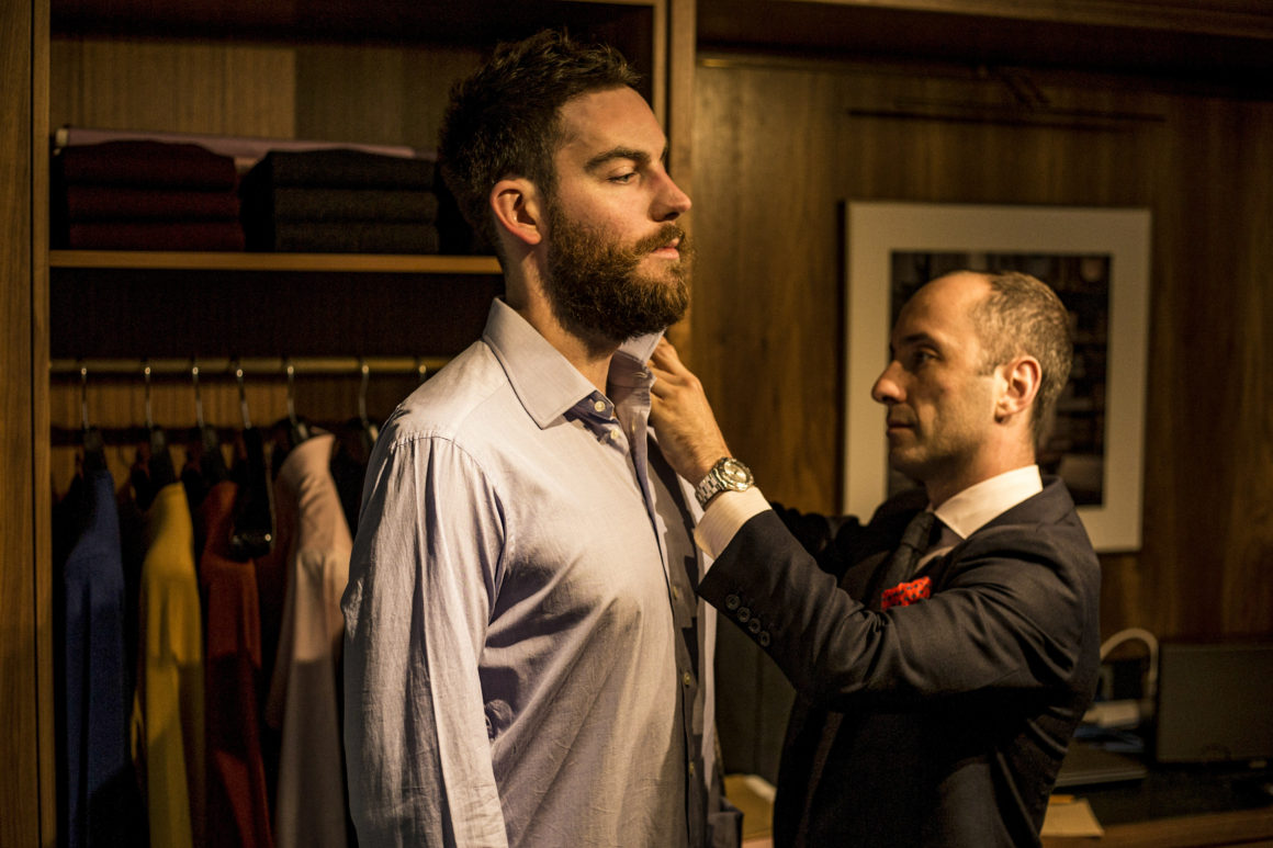 Turnbull & Asser By Appointment trunk shows James Webb